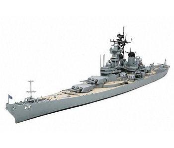 Tamiya Us Navy Battleship Bb-62 New Jersey (1/700)