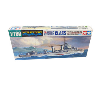 Tamiya 1/700 British E Class Destroyer