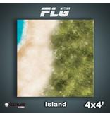 Frontline Gaming FLG Mats Island 4x4