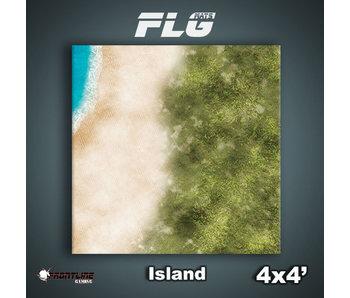 FLG Mats Island 4x4