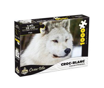 Casse-tête 1000 mcx (Croc-Blanc) - Miller Zoo