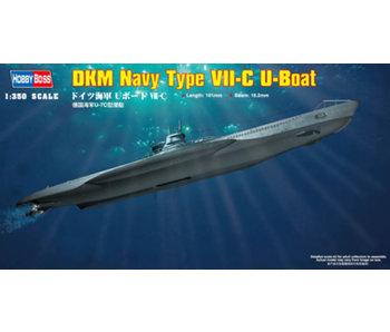 Hobby Boss DKM Navy Type VII-C U-Boat (1/350)