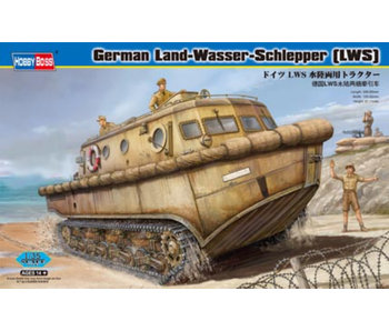German Land-Wasser-Schlepper (LWS) Amphibious Tractor Early Production (1/35)
