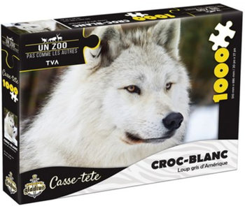 Puzzle Croc-blanc (1000 pcs)
