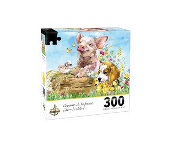 Puzzle Copains de la ferme (300 pcs)