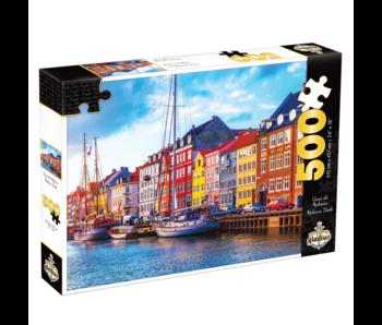 Puzzle Quai de Nyhavn (500 pcs)
