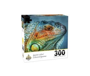 Puzzle Iguane coloré (300 pcs)