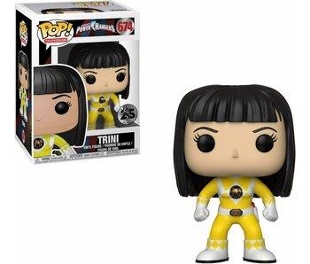 Funko Pop! Tv Power Rangers - Yellow Ranger (No Helmet)