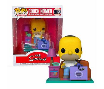 Funko Pop! Deluxe Simpsons - Homer Watching Tv