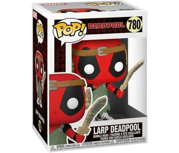 Funko Pop! Marvel Deadpool 30th - Larp Nerd Deadpool