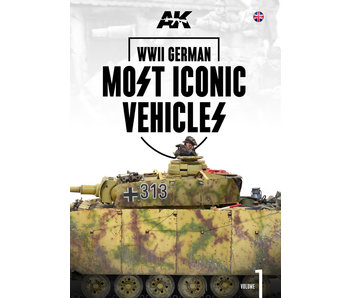 AK Interactive WWII German Most Iconic SS Vehicles. Vol 1