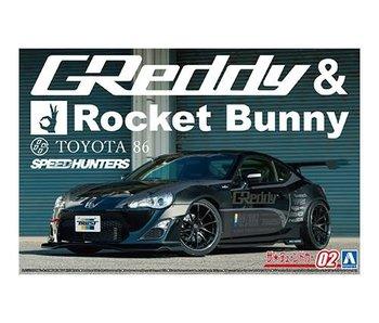 Aoshima ZN6 Toyota 86 12 Greddy&Rocket Bunny Volk Racing Ver. (1/24)