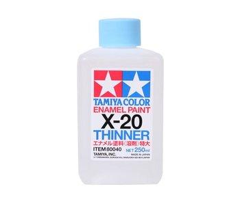 Tamiya Enamel Paint X-20 Thinner (80040) 250ml