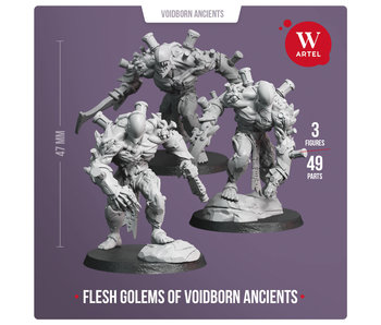 Flesh Golems (3 miniatures)