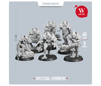 Spectral Spinners Squad (5 warriors+leader) (AW-228)