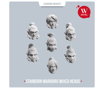 Starborn Warriors Mixed Heads (AW-218)