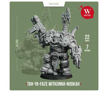 Tah-Ya-Faze Witkunna-nookah (+3 Additional armored headz) (AW-205)