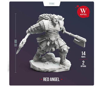 Red Angel 28mm scale miniature (AW-034)