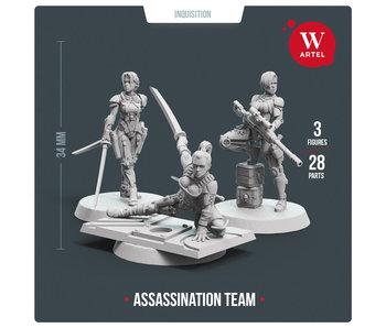 Assassination Team (3 miniatures)  (AW-089)