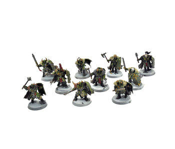 SLAVES TO DARKNESS 10 Chaos Warriors #1 WELL PAINTED Warhammer 40k