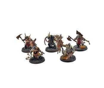 DAEMONS OF NURGLE 5 Putrid Blightking #3 WELL PAINTED Warhammer Sigmar