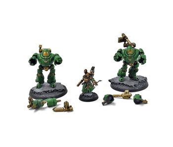 ADEPTUS MECHANICUS Kastelan Robots #1 WELL PAINTED Warhammer 40k