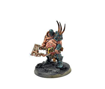 DAEMONS OF NURGLE Lord of Plague #1 WELL PAINTED Warhammer Sigmar