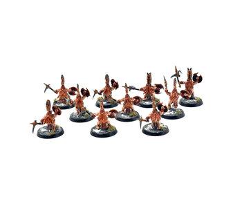 FYRESLAYERS 10 Vulkite Bersekers #3 PRO PAINTED Warhammer Sigmar
