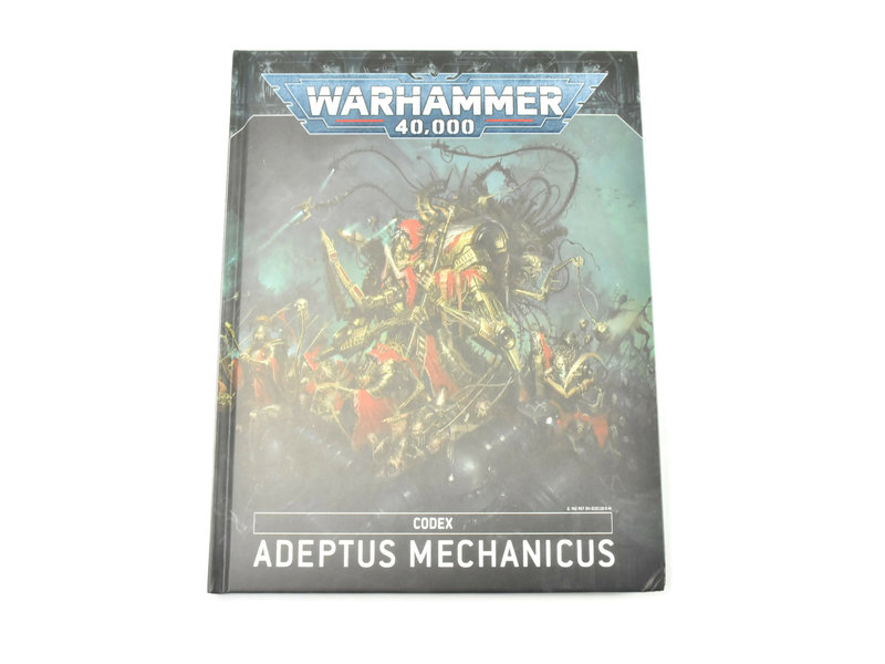 Games Workshop ADEPTUS MECHANICUS Codex Warhammer 40k #1 signs of used