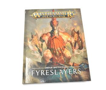 FYRESLAYERS Order Battletome #1 Warhammer Sigmar