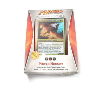 MAGIC THE GATHERING COMMANDER 2013 Power Hungry #1 MTG