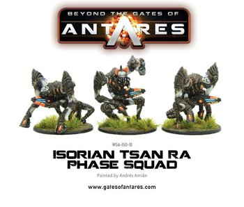 Beyond The Gates Of Antares Isorian Tsan Ra Phase Squad (3 Models)