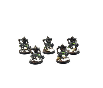 NECRONS 5 Immortals #5 WELL PAINTED Warhammer 40k