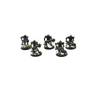 NECRONS 5 Immortals #6 WELL PAINTED Warhammer 40k