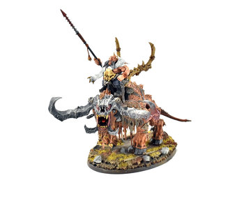 OGOR MAWTRIBES Frostlord on Stonehorn #1 WELL PAINTED Sigmar