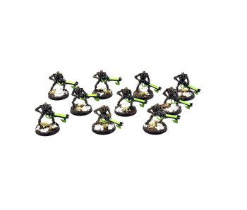 NECRONS 10 NECRON Warriors #3 WELL PAINTED Warhammer 40k