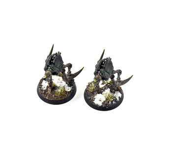 NECRONS 2 Cryptothralls #2 WELL PAINTED Warhammer 40k
