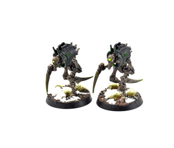 NECRONS 2 Cryptothralls #1 WELL PAINTED Warhammer 40k