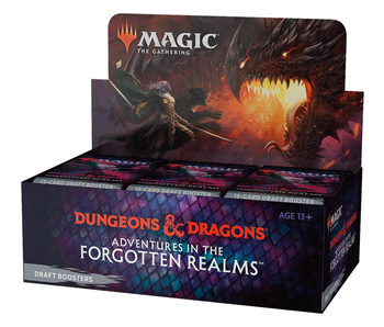 MTG Adventures In The Forgotten Realms Draft Booster Box