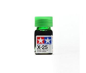 Tamiya Enamel Clear Green (X-25) 10ml