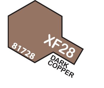 Tamiya Enamel Dark Copper (XF-28) 10ml