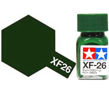 Tamiya Enamel Deep Green (XF-26) 10ml