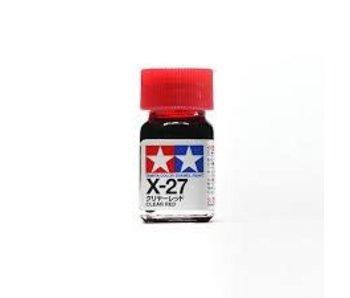 Tamiya Enamel Clear Red (X-27) 10ml