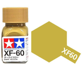 Tamiya Dark Yellow (XF-60) 10ml
