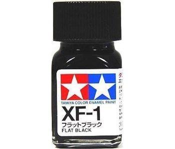 Tamiya Enamel Flat Black (XF-1) 10ml