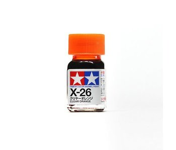 Tamiya Enamel Clear Orange (X-26) 10ml