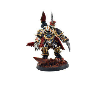 CHAOS SPACE MARINES Chaos Lord in Terminator Armour PRO PAINTED