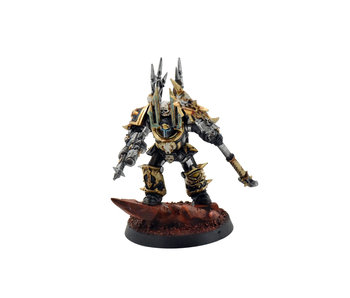CHAOS SPACE MARINES Chaos Sorcerer Lord in Terminator Armour PRO PAINTED