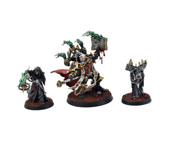 CHAOS SPACE MARINES Dark Apostle with Disciples #1 PRO PAINTED 40k