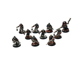 CHAOS SPACE MARINES 10 Chaos Cultists #2 PRO PAINTED Warhammer 40k